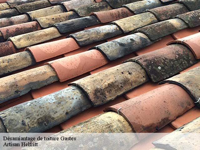 Entreprise désamiantage de toiture à Gastes tel: 05.33.06.15.63