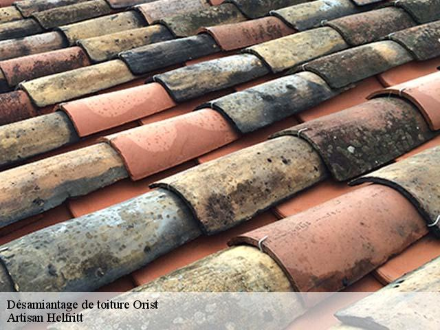 Entreprise désamiantage de toiture à Orist tel: 05.33.06.15.63