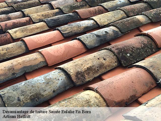 Entreprise désamiantage de toiture à Sainte Eulalie En Born tel: 05.33.06.15.63